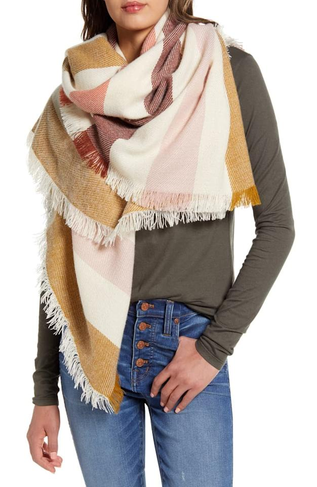 "<p><a href=""https://www.popsugar.com/buy/Madewell%20Bold%20Stripe%20Blanket%20Square%20Scarf-470286?p_name=Madewell%20Bold%20Stripe%20Blanket%20Square%20Scarf&retailer=shop.nordstrom.com&price=43&evar1=fab%3Aus&evar9=46246173&evar98=https%3A%2F%2Fwww.popsugar.com%2Ffashion%2Fphoto-gallery%2F46246173%2Fimage%2F46401279%2FMadewell-Bold-Stripe-Blanket-Square-Scarf&list1=shopping%2Cnordstrom%2Csale%2Csale%20shopping%2Cnordstrom%20sale%2Cnordstrom%20anniversary%20sale&prop13=api&pdata=1"" rel=""nofollow"" data-shoppable-link=""1"" target=""_blank"" class=""ga-track"" data-ga-category=""Related"" data-ga-label=""https://shop.nordstrom.com/s/madewell-bold-stripe-blanket-square-scarf-nordstrom-exclusive/5276260?origin=category-personalizedsort&amp;breadcrumb=Home%2FAnniversary%20Sale%2FWomen&amp;color=bright%20berry%20natural"" data-ga-action=""In-Line Links"">Madewell Bold Stripe Blanket Square Scarf </a> ($43, originally $65)</p>"