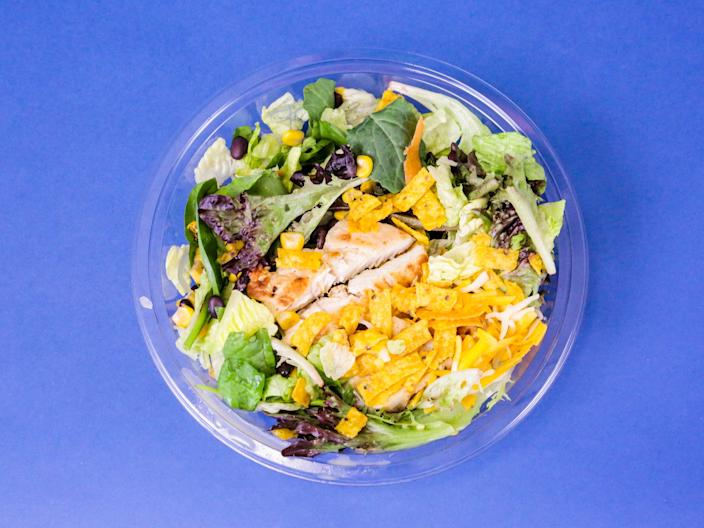 McDonald's southwest salad 1