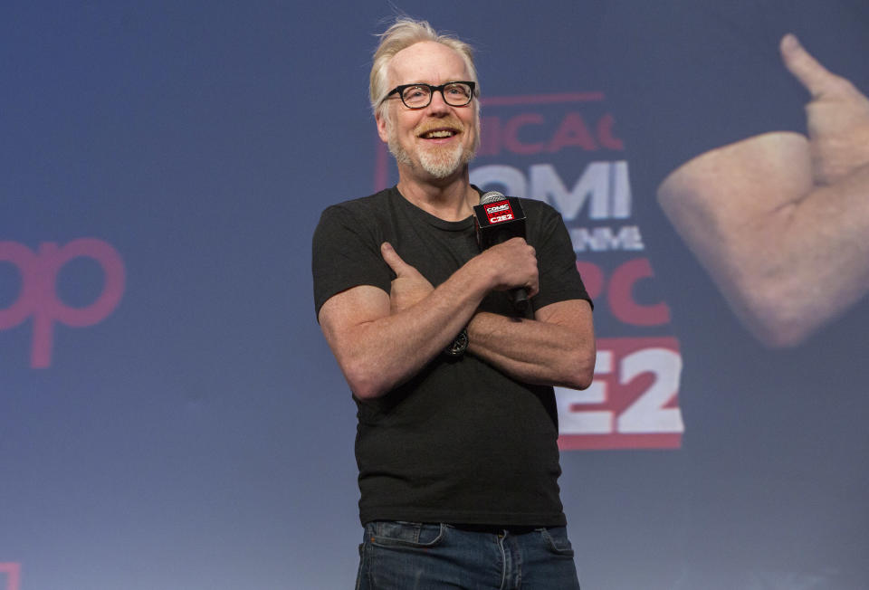 Adam Savage responds to his sister's claim of sexual abuse, calling her allegations in a new lawsuit untrue. (Photo: WireImage)