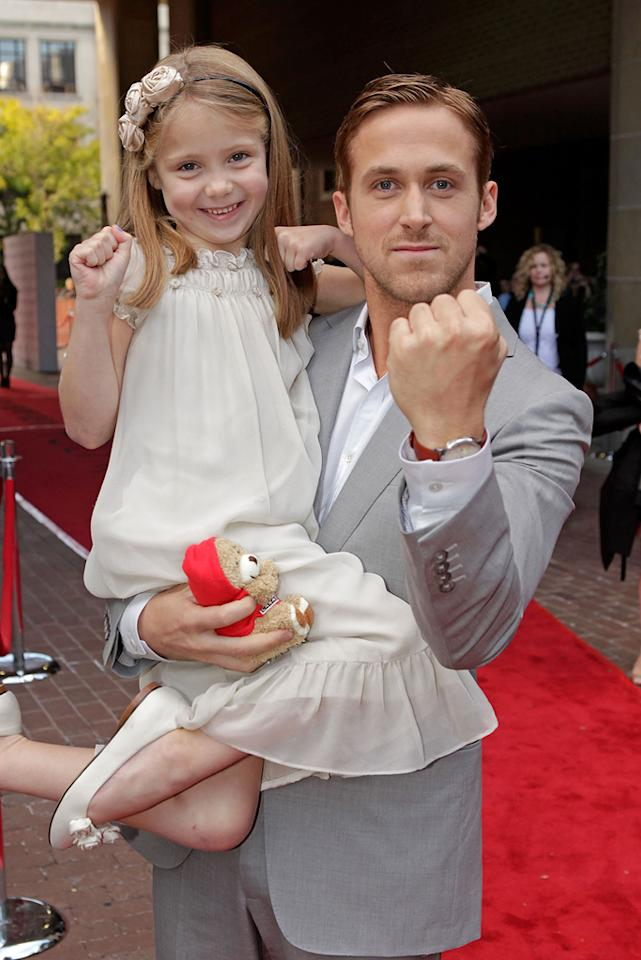 """Faith Wladyka and <a href=""""http://movies.yahoo.com/movie/contributor/1804035474"""">Ryan Gosling</a> at the 35th Annual Toronto Film Festival premiere of <a href=""""http://movies.yahoo.com/movie/1809945752/info"""">Blue Valentine</a> on September 15, 2010."""