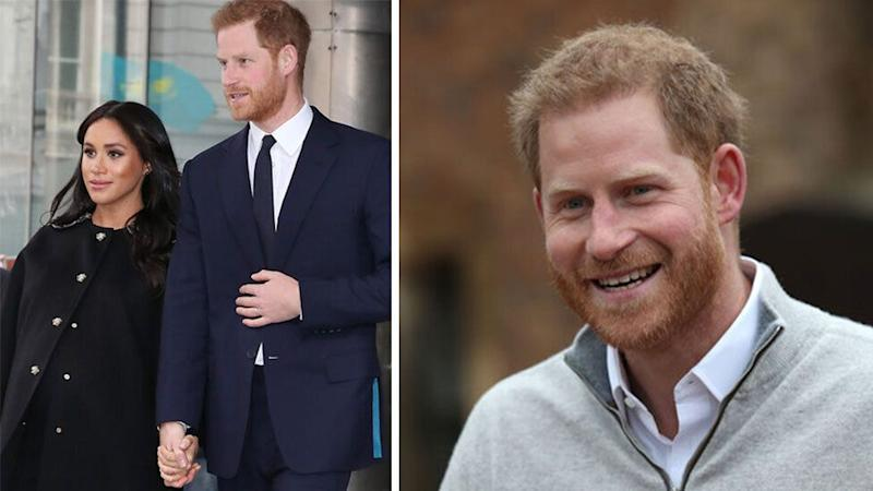 Prince Harry and meghan markle welcome royal baby boy.