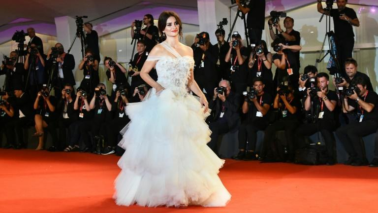Penelope Cruz is in the opening film from Pedro Almodovar, and also alongside Antonio Banderas in 'Official Competition' (AFP/Vincenzo PINTO)