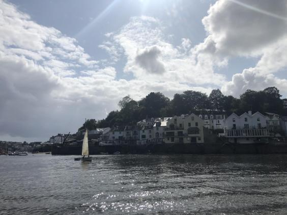 Journey's end: Fowey harbour in southern Cornwall (Simon Calder)