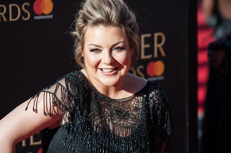 LONDON, UNITED KINGDOM - APRIL 09: Sheridan Smith attends the 2017 Olivier Awards with Mastercard ceremony at the Royal Albert Hall on April 09, 2017 in London, England. PHOTOGRAPH BY Wiktor Szymanowicz / Barcroft Images London-T:+44 207 033 1031 E:hello@barcroftmedia.com - New York-T:+1 212 796 2458 E:hello@barcroftusa.com - New Delhi-T:+91 11 4053 2429 E:hello@barcroftindia.com www.barcroftimages.com (Photo credit should read Wiktor Szymanowicz / Barcroft Im / Barcroft Media via Getty Images)