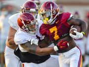 USC RB Stephen Carr looking 'as good as he's ever been' in camp