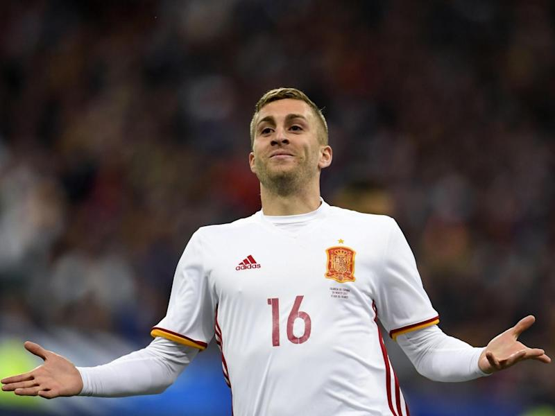 Deulofeu's goal was initially ruled out, only for the VAR to reverse the decision (Getty)