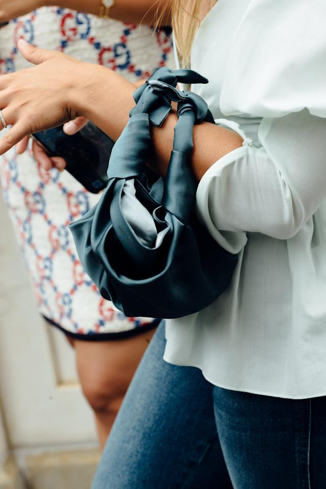 "<p>Even if you opt for a simpler puffy-sleeve top, luxe accessories can transform your denim outfit. Mini bags are fail-safe for giving any look an after-hours feel whether you opt for a style in a fanciful fabric like silk or go for a unique shape with polished hardware. The final touch? <a href=""https://www.popsugar.com/fashion/How-Wear-Fall-Jewelry-Trends-2019-46554924"" class=""ga-track"" data-ga-category=""Related"" data-ga-label=""https://www.popsugar.com/fashion/How-Wear-Fall-Jewelry-Trends-2019-46554924"" data-ga-action=""In-Line Links"">Jewelry</a>! From earrings to bracelets and necklaces. </p>"
