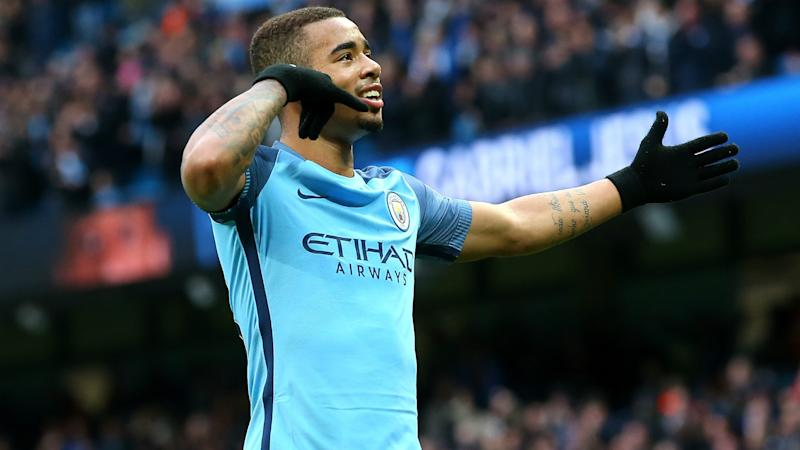 Gabriel Jesus Man City Premier League