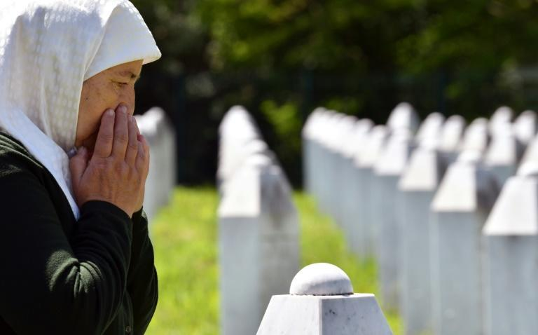 More than 8,000 Muslim men and boys were massacred at Srebrenica, including Fadila Efendic's husband and her son