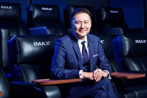 Edwin Tan, chief executive officer of IMAX China, predicts business will recover to pre-Covid level by the end of this year. Photo: Handout