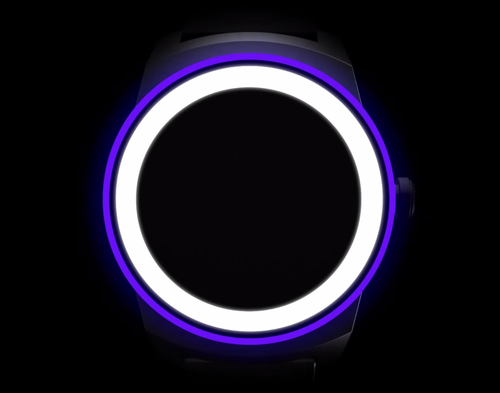 Blank smartwatch face