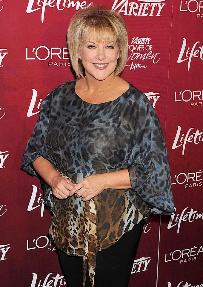 "October 23: TV host/""Dancing With the Stars"" contestant Nancy Grace turns 52."