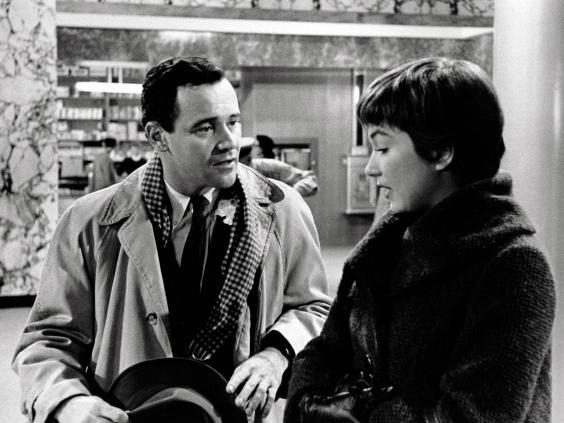 Jack Lemmon and Shirley MacLaine in 'The Apartment' (Rex)