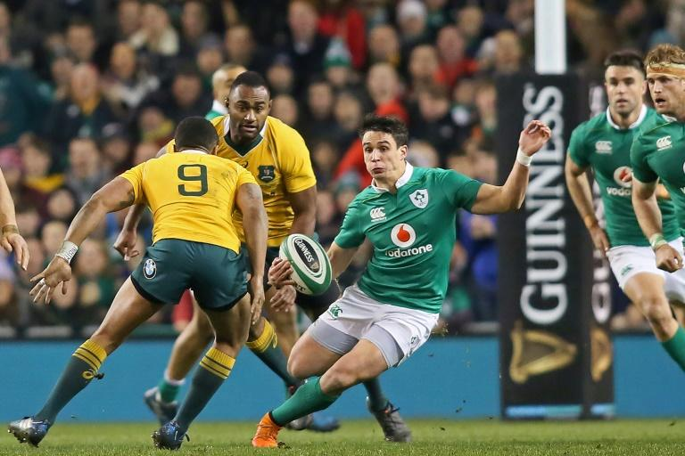 Having proven he can swim when dropped into the deep end when making his Ireland debut Joey Carbery lit up Lansdowne Road in a superb display for Leinster against Wasps