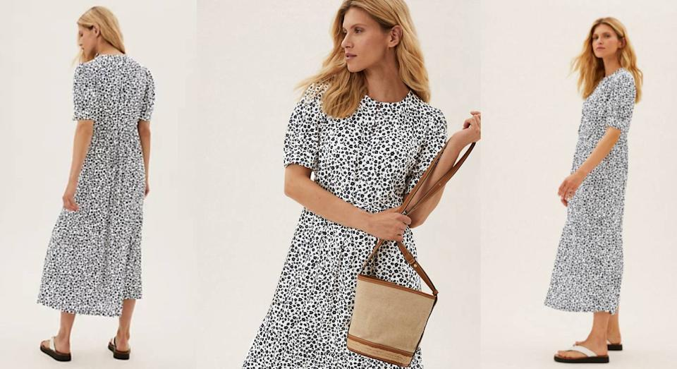 This M&S dress is about to fly off the shelves. (Marks & Spencer)