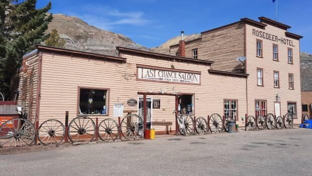In the early 1900s, the community of Wayne had 2,500 residents, whose work was primarily related to 12 active coal mines in the area. The hotel and saloon were built 108 years ago. (Heather VanDyk/ReMax Now - image credit)