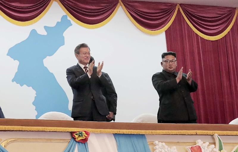 Moon says Kim agreed to allow nuke inspections