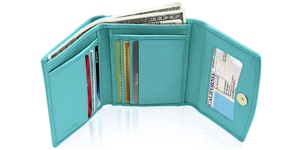 Access Denied Compact Ladies' Trifold Wallet (Photo: Amazon)