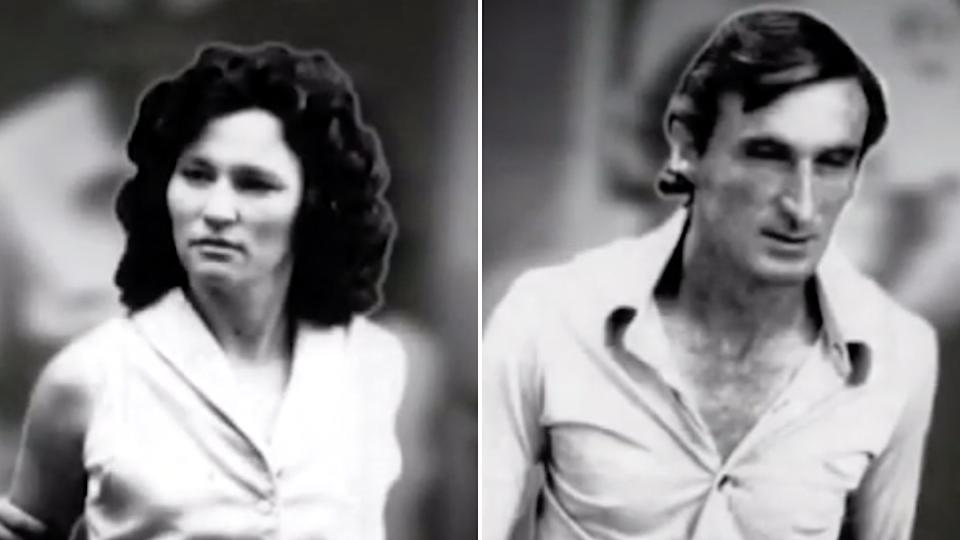 Catherine and David Birnie killed four women in Perth in 1986. Source: Nine/Australian Families of Crime