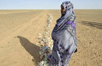 The UN-patrolled ceasefire line in Western Sahara, a former Spanish colony disputed by Morocco and the pro-independence Polisario Front, runs deep inside the sparsely populated desert interior