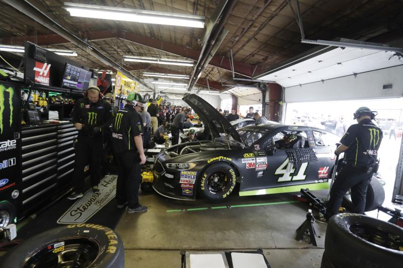 You won't see a garage scene like this for a while. (AP Photo/Carlos Osorio)