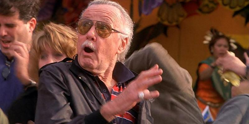 One of Stan Lee's earlier cameos in 2002's 'Spider-Man' (credit: Sony)