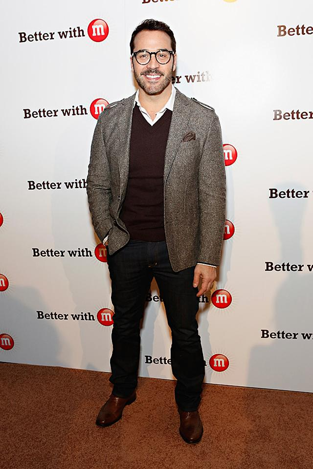NEW ORLEANS, LA - JANUARY 31:  Actor Jeremy Piven attends the M&M's Better With M Party at The Foundry on January 31, 2013 in New Orleans, Louisiana.  (Photo by Cindy Ord/Getty Images)