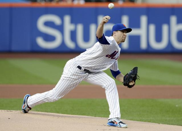 Should New York Mets' ace Jacob deGrom get the starting nod at the All-Star Game? (AP)