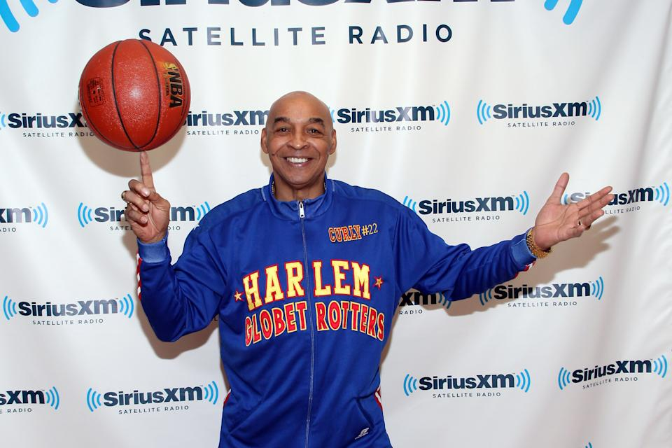 """Fred """"Curly"""" Neal was won of the most beloved Globetrotters. (Photo by Taylor Hill/Getty Images)"""