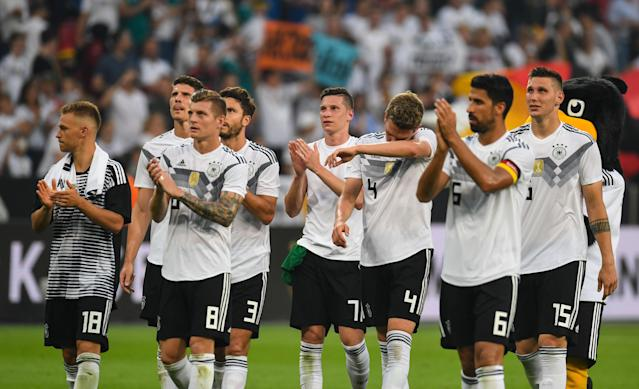 Will Germany repeat as World Cup champions? Not all of our guys think so. (Getty)