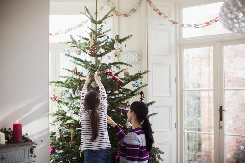 Find a perfect tree in your price range this holiday season. (Photo: Getty Images)