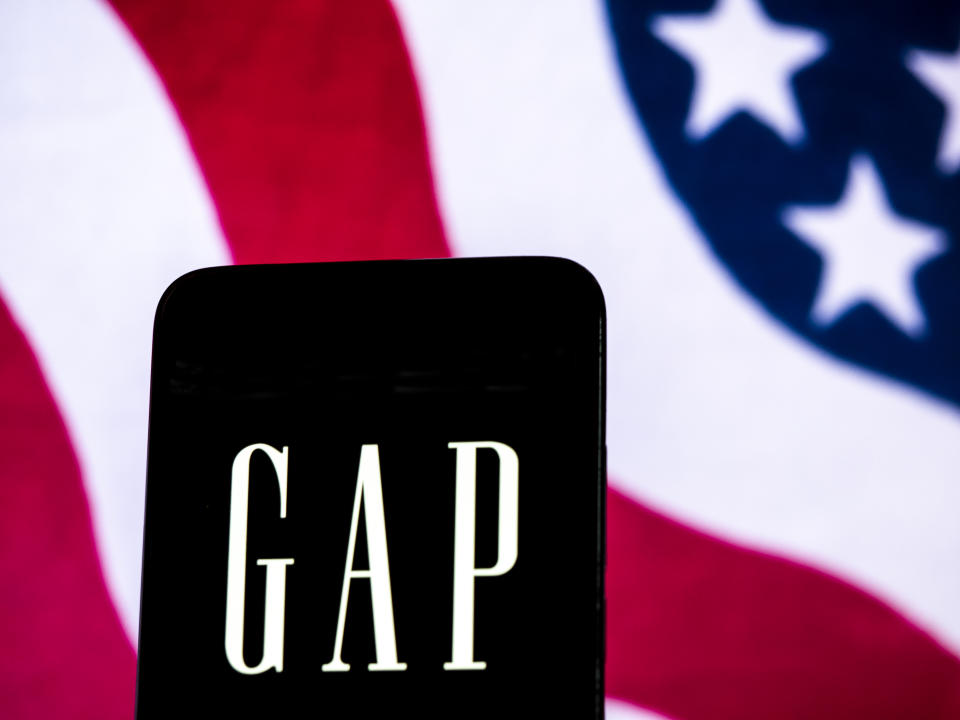 Gap Inc. deleted a tweet about unity amid election chaos. (Photo: Getty Images)