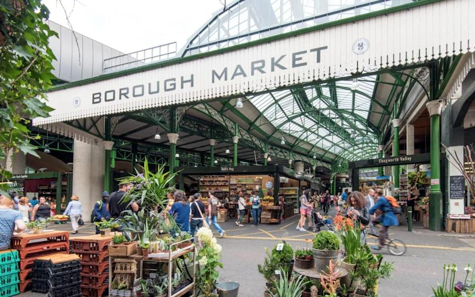 Borough is one of the city's best food markets - Getty