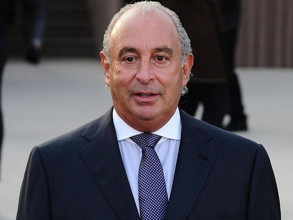 Sir Philip Green's fortune took a tumble (PA)