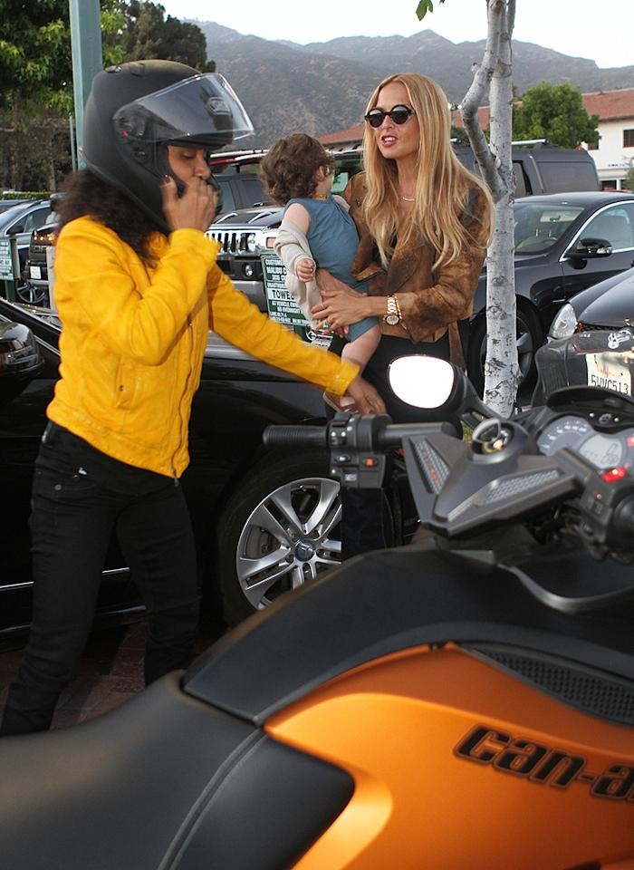"""But before mounting her bike, Jada made sure to say hello to celebrity stylist Rachel Zoe and her baby boy, Skylar. Wonder if Rachel approved of Jada's motorcycle mama look ... (7/2/2012)<div style=""""display:none;"""" class=""""skype_pnh_menu_container""""><div class=""""skype_pnh_menu_click2call""""><a class=""""skype_pnh_menu_click2call_action"""">Call</a></div><div class=""""skype_pnh_menu_click2sms""""><a class=""""skype_pnh_menu_click2sms_action"""">Send SMS</a></div><div class=""""skype_pnh_menu_add2skype""""><a class=""""skype_pnh_menu_add2skype_text"""">Add to Skype</a></div><div class=""""skype_pnh_menu_toll_info""""><span class=""""skype_pnh_menu_toll_callcredit"""">You'll need Skype Credit</span><span class=""""skype_pnh_menu_toll_free"""">Free via Skype</span></div></div>"""