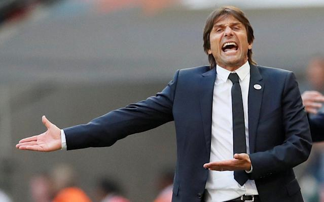 Antonio Conte will consider taking a break if he is sacked as Chelsea head coach, which would be a blow to the club's hopes of avoiding an expensive compensation package. Conte has been left in the dark over his future since leading Chelsea to FA Cup success last Saturday, with a game of brinkmanship threatening to be played out. The Italian has made it clear he will not walk away from the final year of his contract, meaning Chelsea must sack him and risk paying a compensation bill of up to £9million to replace him. One simple solution to the impasse would be for Conte to walk straight into another job, but the potential options for him are running out. Roberto Mancini has taken over the Italian national team, Thomas Tuchel was appointed by Paris Saint-Germain and Max Allegri looks set to stay at Juventus. Inter Milan are preparing to keep Luciano Spalletti after qualifying for the Champions League and Carlo Ancelotti is being touted as a possible replacement for Maurizio Sarri if the 59-year-old leaves Napoli. FA Cup final reaction and analysis | How Chelsea held their nerve against United Conte is believed to be willing to wait for one of Europe's top jobs if he is forced to leave Stamford Bridge, which could be costly for Chelsea. The Blues would have to continue to pay Conte for the remaining 12 months of his contract while he is out of work, meaning a year-long sabbatical would cost them the full £9m. There is also the issue of Conte's staff, who would be due pay offs even if the Italian quit but it is not certain that they would all follow the former Juventus manager out of Chelsea. Goalkeeping coach Gianluca Spinelli is thought to be prepared to stay at Chelsea, particularly if Conte leaves without a job to walk back into. Spinelli, who was part of Conte's staff with the Italian national team, has worked well with goalkeeper Thibaut Courtois and is highly rated by the Belgian and within Stamford Bridge. Other than saving them money, Spinelli could solve a possible problem for Chelsea if he stayed on, as former goalkeeping coach Christophe Lollichon, who is still employed by the club, does not get on with Courtois. Courtois is yet to sign an extension to his contract that only has 12 months to run and the prospect of working with Lollichon again could be enough to convince him to leave Chelsea. Chelsea may look to offload Alvaro Morata this summer Credit: Getty images Despite uncertainty over Conte and his staff, Chelsea are making transfer plans for the summer and could be forced to make a big decision over record signing Alvaro Morata. Juventus have already shown an interest in taking Morata back and AC Milan are the latest club to investigate whether or not they could afford to sign the Spaniard. It is not believed AC could match Chelsea's £57m valuation of Morata, but the Italians could look to take him on loan with a view to a permanent move. Chelsea are not desperate to sell Morata, who they believe will be better next season, but they are willing to let him go if he asks to leave or if they can finance a move for a replacement by cashing in. Bayern Munich's Robert Lewandowski and Manchester United's Anthony Martial, who is also of interest to Tottenham Hotspur, are two forwards on Chelsea's radar.