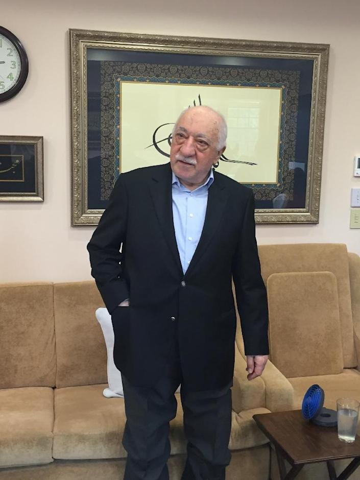 Ties were damaged after the failed coup of 2016 with Turkey angered by Washington's refusal to extradite Fethullah Gulen, a Pennsylvania-based preacher (AFP Photo/Thomas URBAIN)