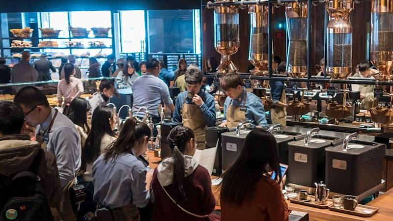 Starbucks, Costa take on the challenge of growing the coffee business in China, the traditional land of tea