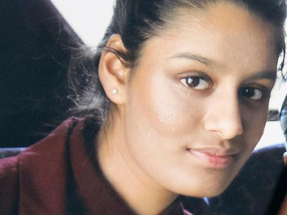 <p>Shamima Begum prior to leaving for Syria</p>PA