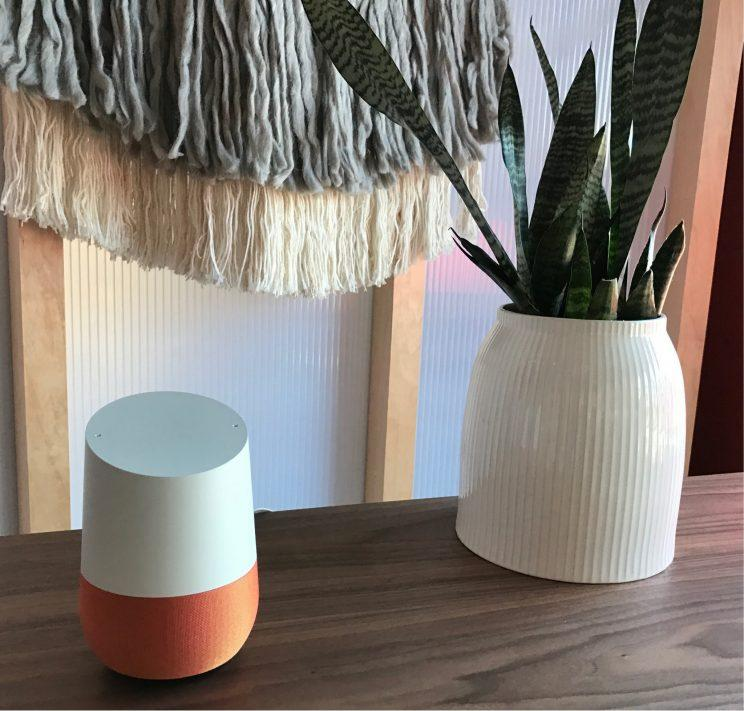 The Google Home.