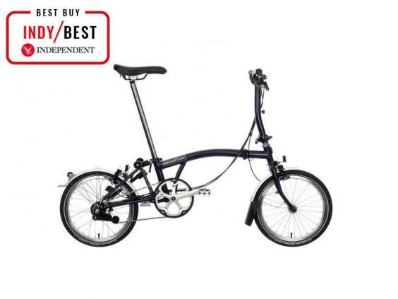 The original Brompton foldable bicycle is easy to fold in about 20 seconds with practice