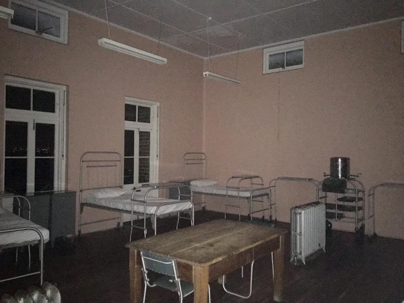 The eerie building gave me the creeps, and they came home with me. Photo: Supplied