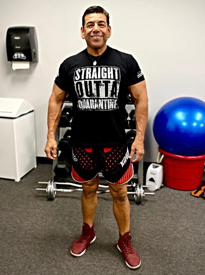 53-year-old California fitness trainer Ruben Mata. (Courtesy Ruben Mata)