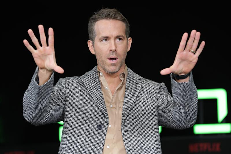 Ryan Reynolds attends the press conference for the world premiere of Netflix's '6 Underground' on December 02, 2019. (Photo by Han Myung-Gu/WireImage)