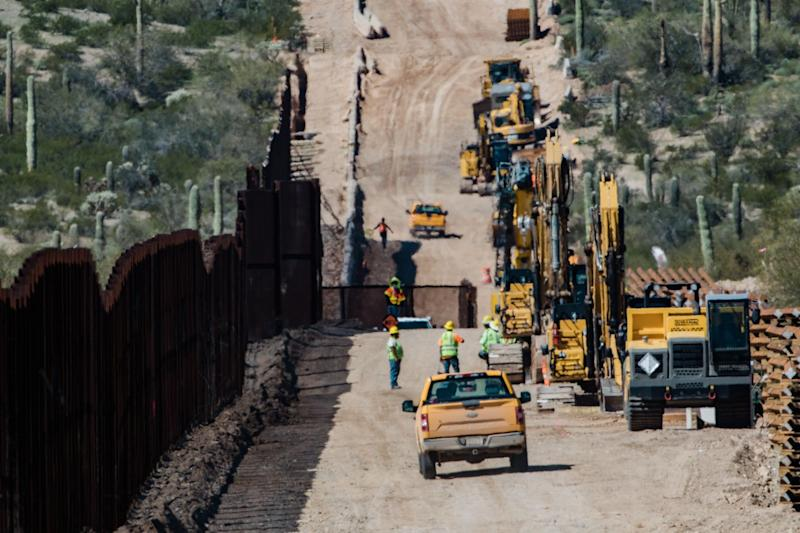 High Court Lets Construction Continue on Trump's Border Wall