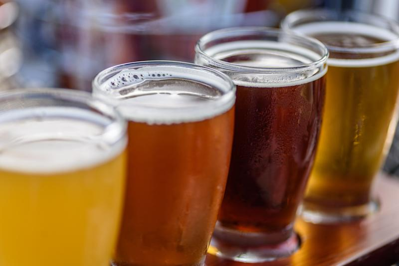 Having a bit to drink could enhance your foreign language speaking skills, according to research. Source: Getty Images