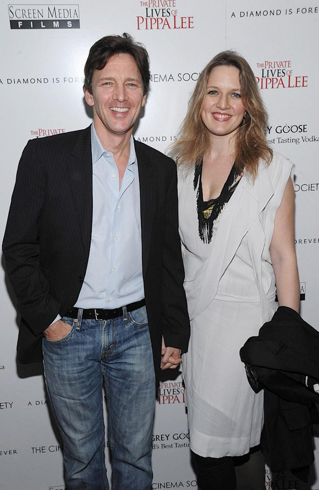 """<a href=""""http://movies.yahoo.com/movie/contributor/1800022461"""">Andrew McCarthy</a> and guest at the New York City Cinema Society screening of <a href=""""http://movies.yahoo.com/movie/1810025242/info"""">The Private Lives of Pippa Lee</a> - 11/15/2009"""
