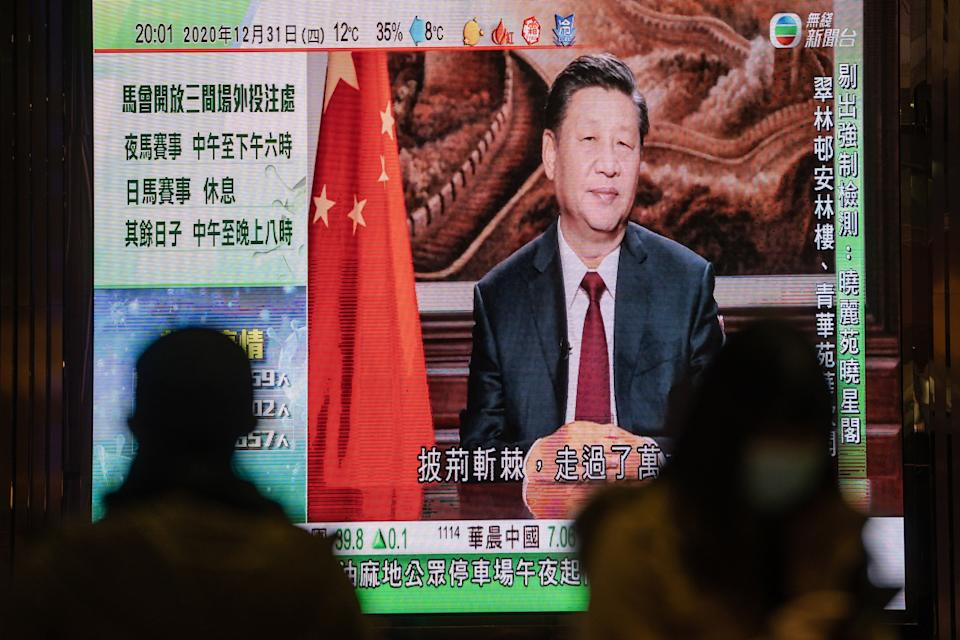 Chinese President Xi Jinping has taken a much more forceful approach to foreign relations, ramping up criticism of the US and Australia. Source: Getty