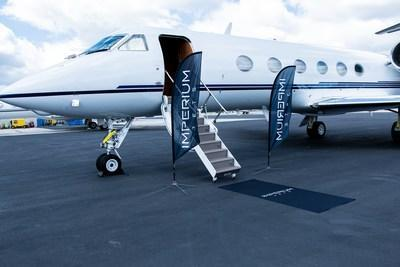 One of the Imperium Jets privately managed fleet is prepared for passengers