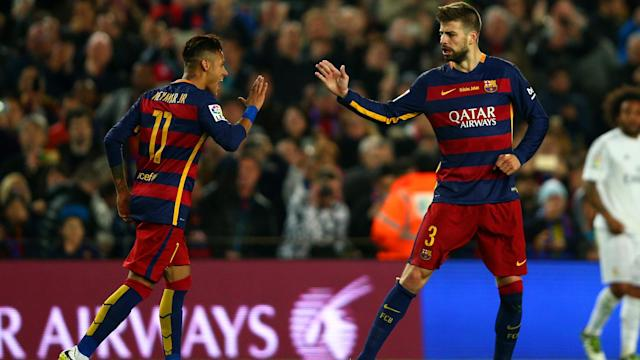 Neymar wants to win the Ballon d'Or and his decision to join Paris Saint-Germain was understood by Gerard Pique.